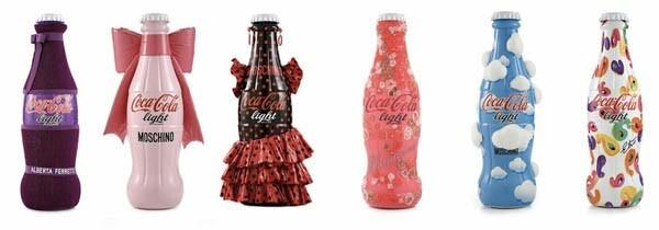 Coca cola design bottles