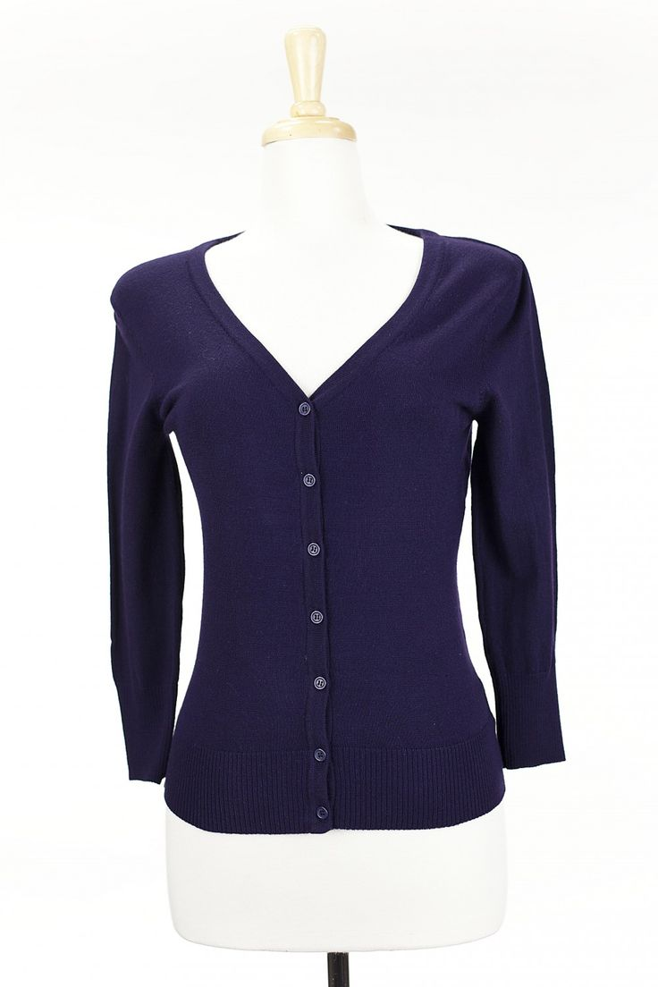 Dressing Your Truth - Type 2 Blackberry Cardigan