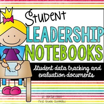 *This product now has editable calendars!* This bundle was designed for student Leadership Notebooks or Data Binders. However, feel free to use them however you'd like in your classroom.
