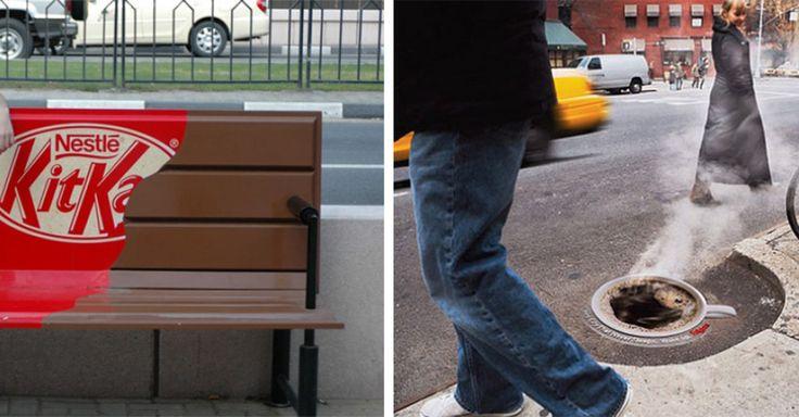 Les passants deviennent souvent lassés des prints qui sont omniprésent dans les rues. Pour leur faire vivre de nouvelles expériences, les marques misent beaucoup