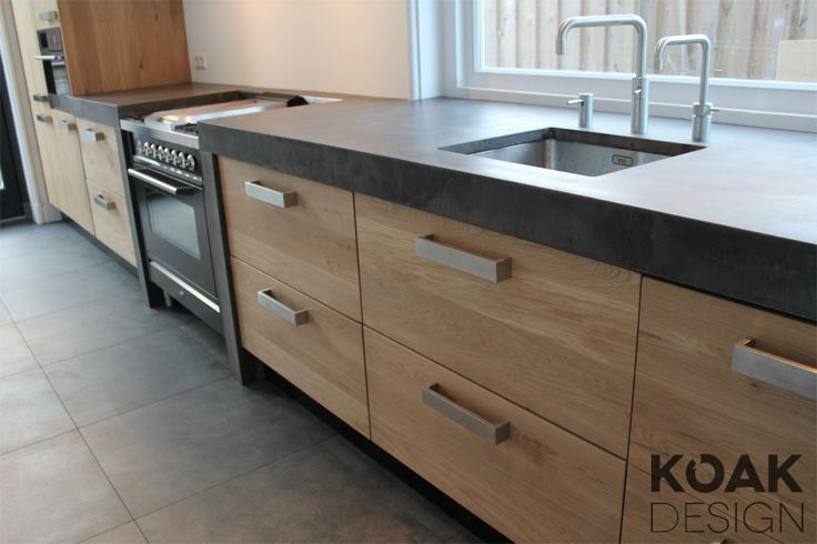 KOAK DESIGN IKEA KEUKEN Real Oak wooden doors, Ikea kitchen hack ...