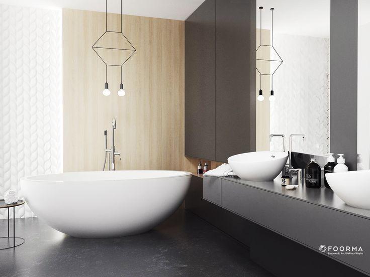 Dorota Pilor/ FOORMA Pracownia Architektury Wnętrz Bathroom