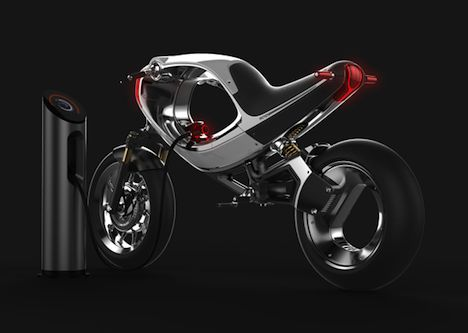 Core77 / Rana 2: Visions of an Electric Motorcycle Future from frog