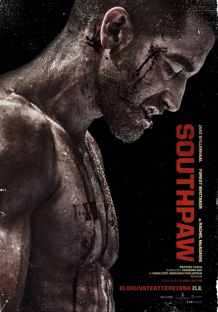 Southpaw elokuvateattereissa 21.8. #nyrkkeily #boxing