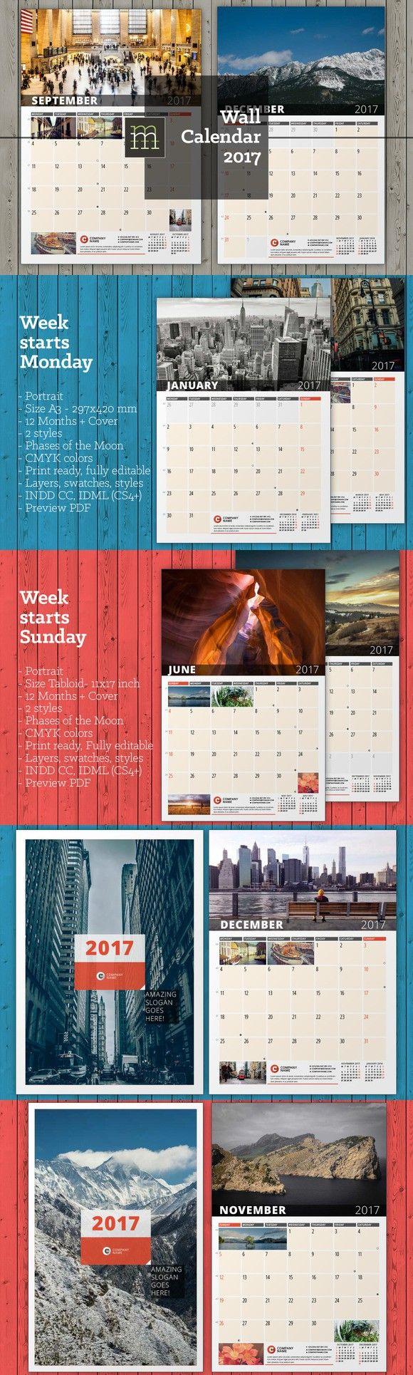 Wall Calendar 2017 (WC19)