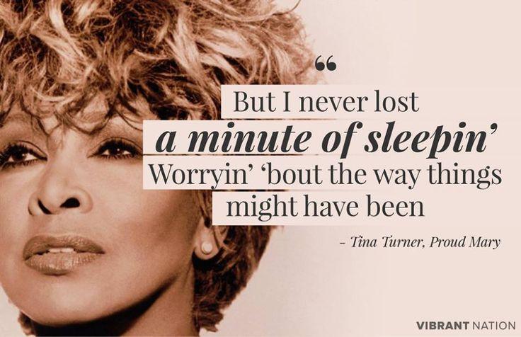"Tina Turner ""Proud Mary"""