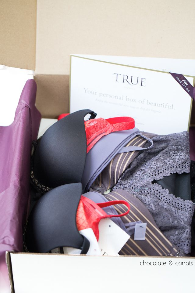 True&Co: The Future of Bra Shopping Review | chocolateandcarrots.com #fashion #tryathome