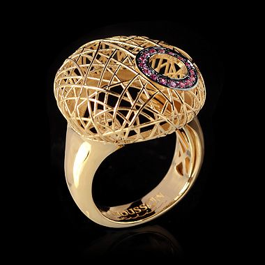 Ring Rolling Stones - buy in Mousson Atelier
