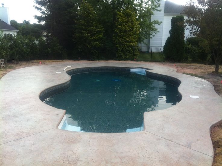 Concrete Colors For Pool Decks Google Search Pool