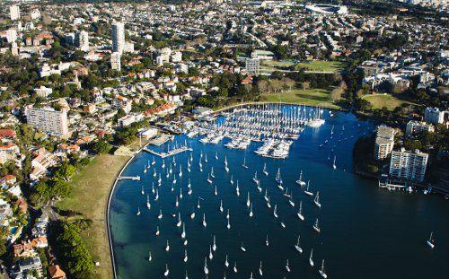 Rushcutters Bay, Eastern Sydney