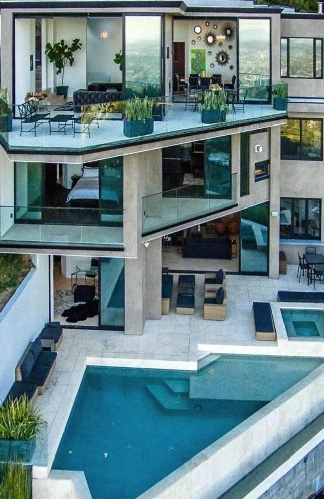 The mansion the YouTube star has just bought.