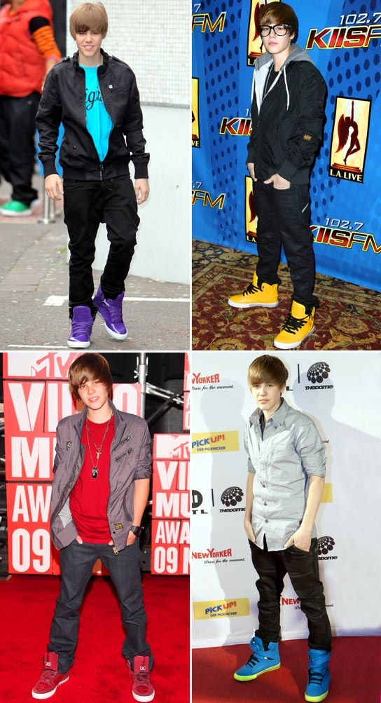 Justin Bieber's Greatest Sneaker Moments