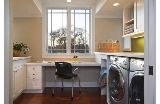 Laundry Room Computer Room Office Mudroom Combo My New House Pinterest Office Nook House