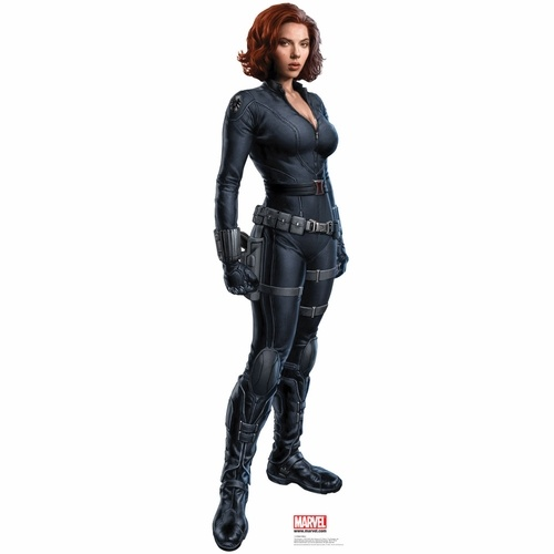 Scarlett Johansson The Black Widow Life Sized Cardboard Cutout $34.95