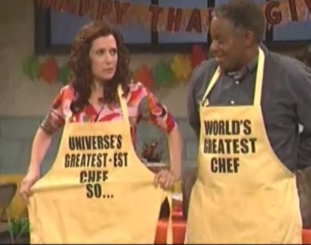 """""""Whatever you've done in your life, I've done it better, so....."""" - Penelope (Kristen Wiig, SNL) One of the best sketches ever! LOL...everyone knows someone like this."""