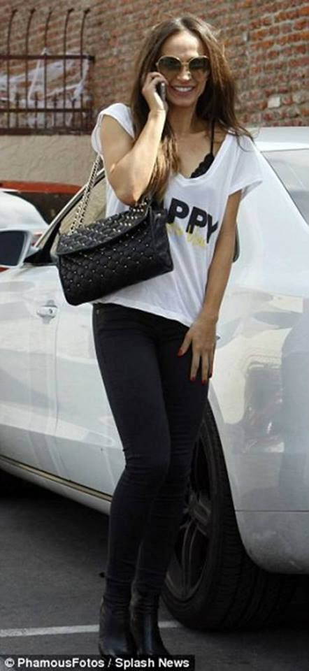 DWTS Season 17 - Karina Smirnoff in the Boyfriend Top     http://peaceloveworld.com/index.php/catalogsearch/result/?q=boyfriend