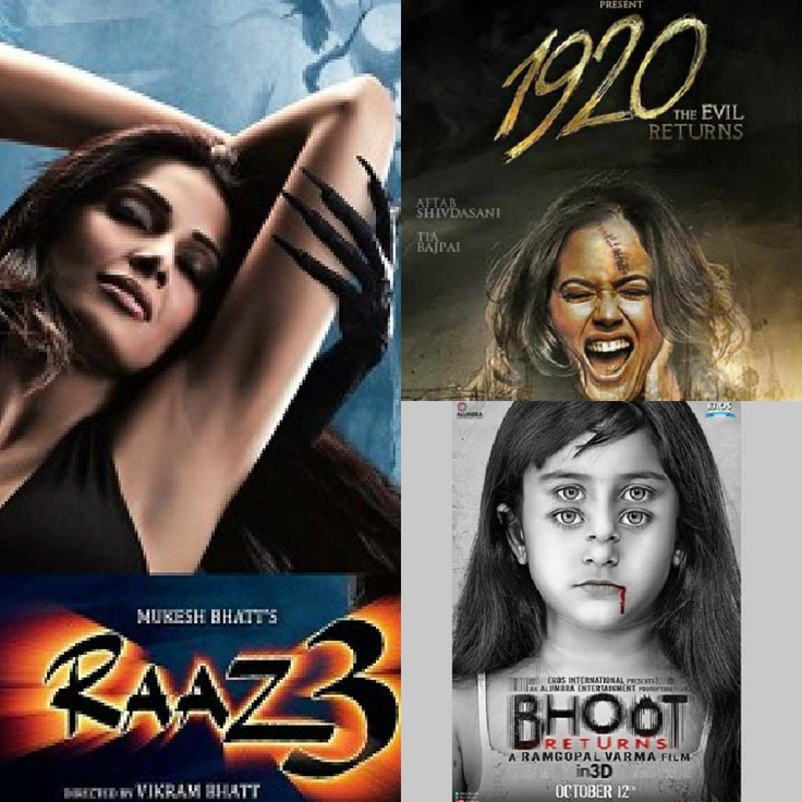 Horror movies of 2012!