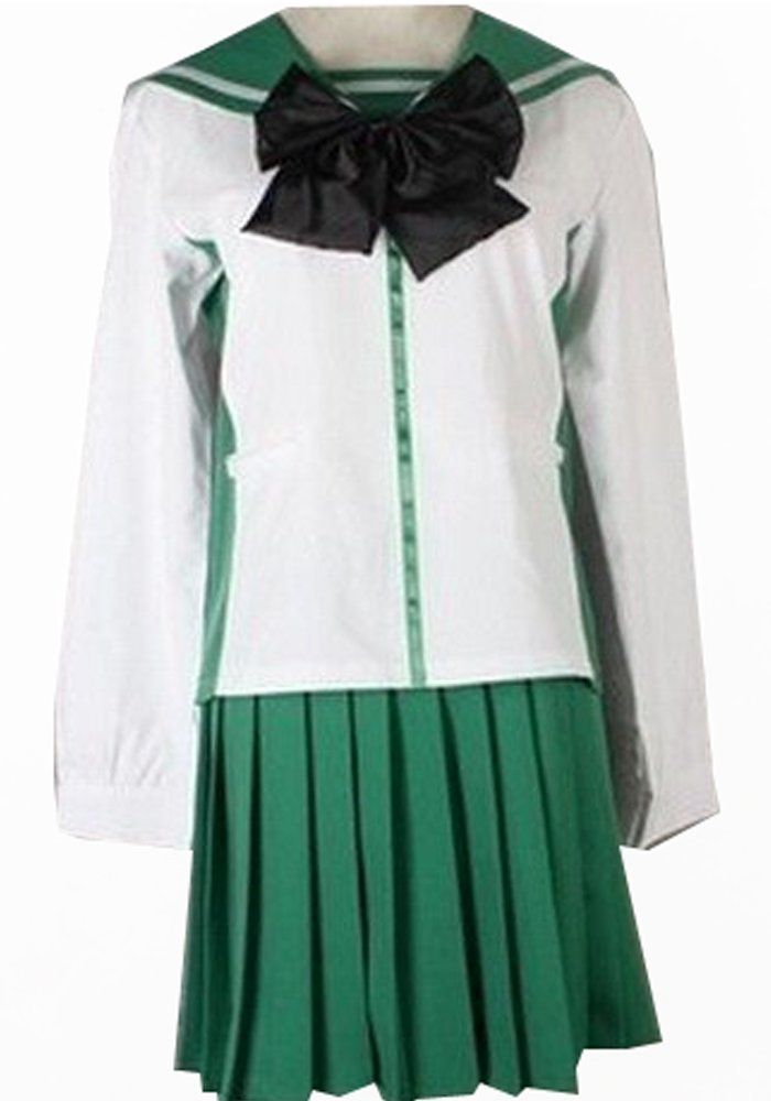 Camplayco High School of Dead Fujimi Shobo Cosplay Costume -- You can get additional details at the image link.