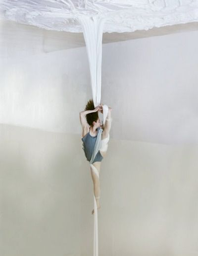 Never occurred to me to shoot silks upside down..... HUH! :D