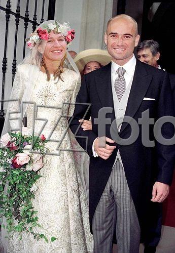 Brooke Shields Andre Agassi Wedding