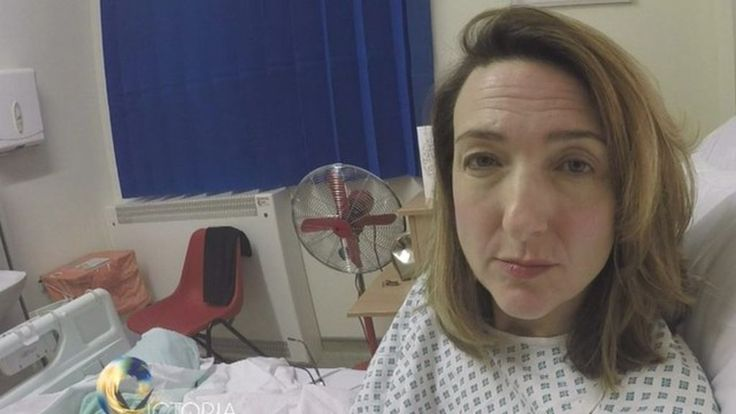 Victoria Derbyshire had a mastectomy to treat her breast cancer last month, she recorded a video diary about her treatment.