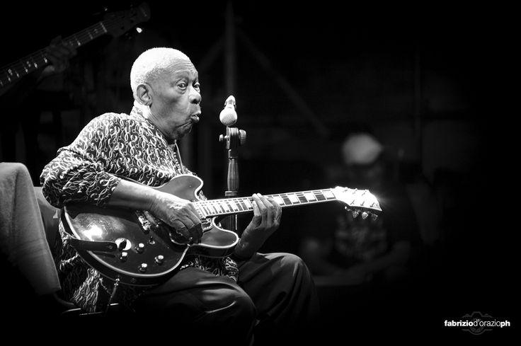 B.B.King al Pistoia Blues