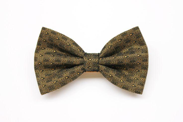 Papillon vintage color oro, farfallino per uomo, accessori matrimoni in oro cerimonia uomo,papillon oro per sposo,cravattino elegante bronzo di ScoccaPapillon su Etsy