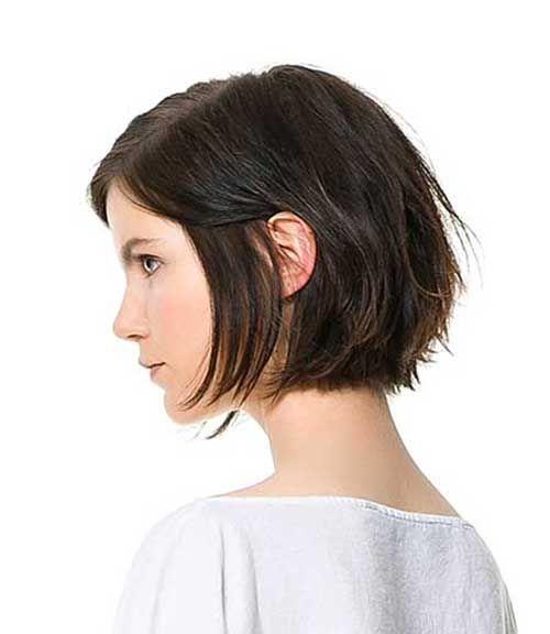25 Kısa Modern Saç Modelleri-9