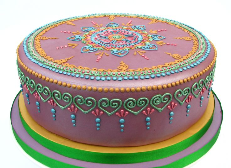 Mehndi Cake Download : 29 best mehndi henna cakes images on pinterest cake indian