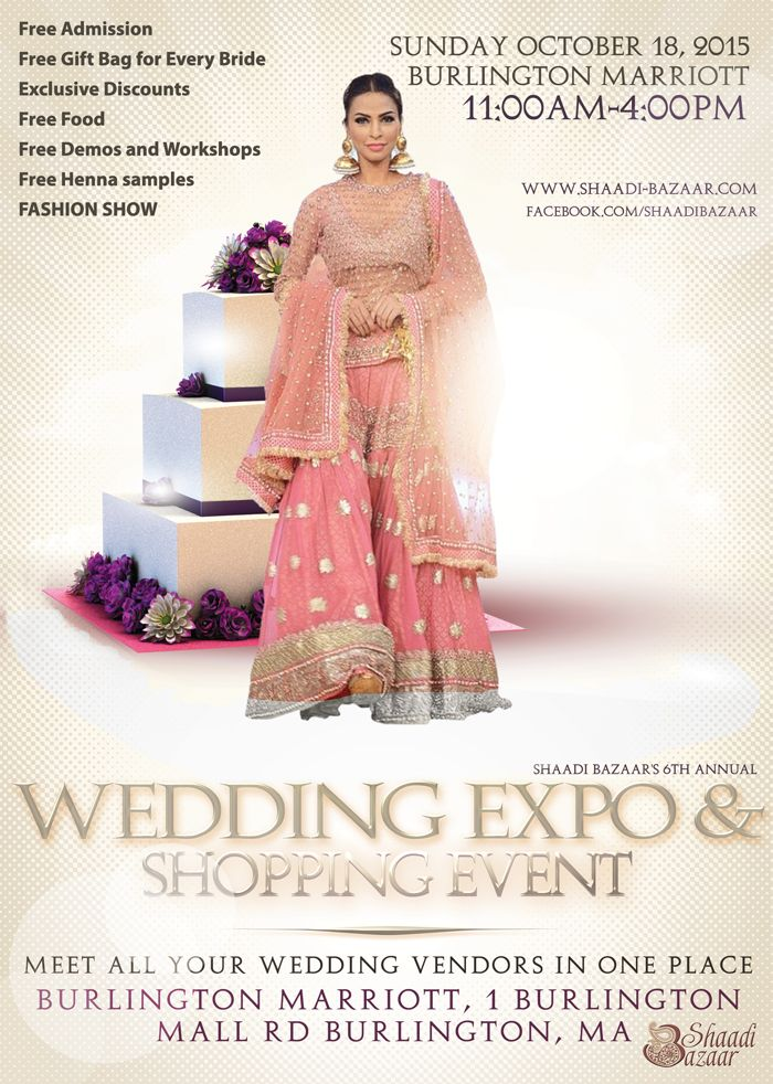 Indian Wedding Expo October 18th
