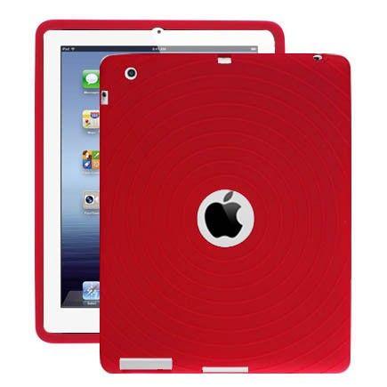 Bombay (Rød) iPad 3 Deksel