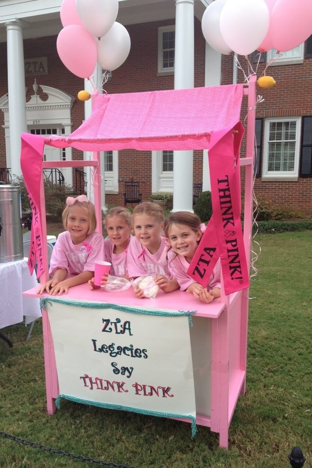 Athens, GA alumnae held a legacy lemonade stand as part of its Think Pink Week. Not only did it raise funds for breast cancer awareness but it taught a new generation about philanthropy!