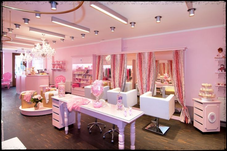 Interior designs for beauty salons monaco princesse for Interieur stylist
