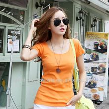 Wide collar female cheap bulk blank t-shirts wholesale best seller follow this link http://shopingayo.space