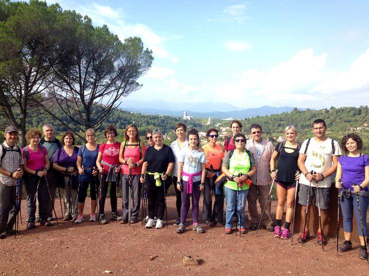 Comencem nova temproada de marxa nòrdica per la Vall de Sant Daniel, Girona. Catalunya. www.nordicwalking-girona.blogspot.com