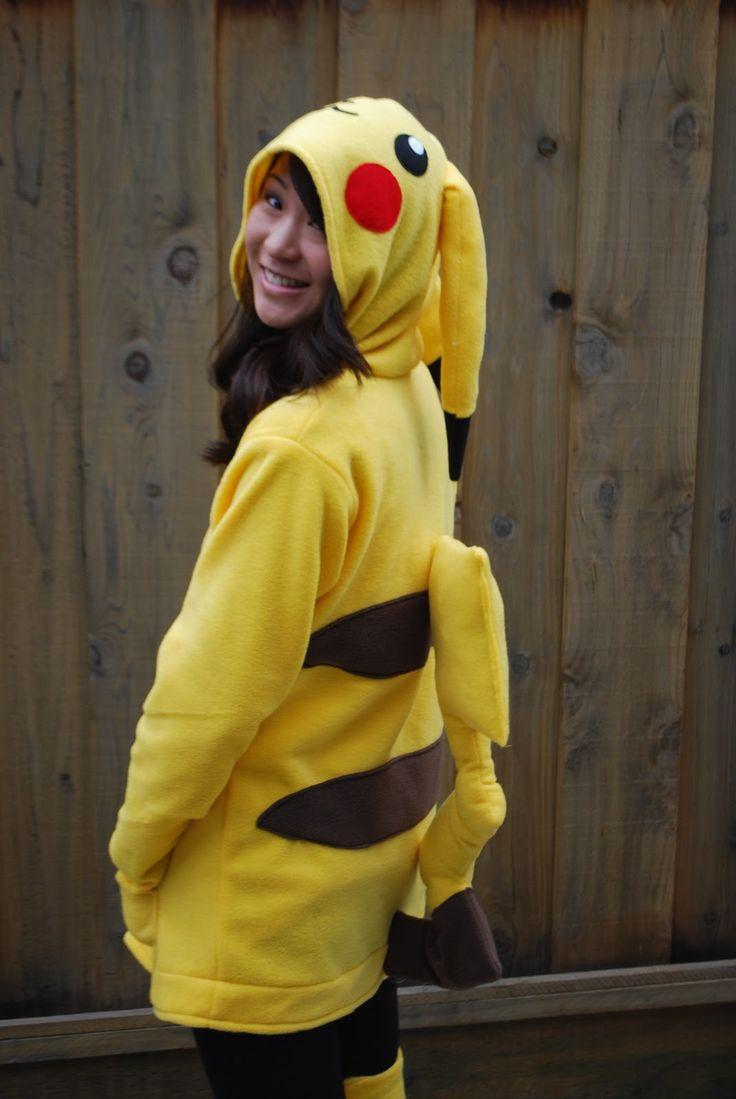 Pikachu And Ash Halloween Costume