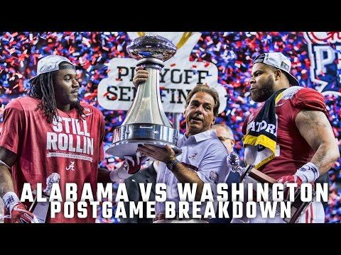 Postgame Report: College Football Playoff Semifinal | AL.com
