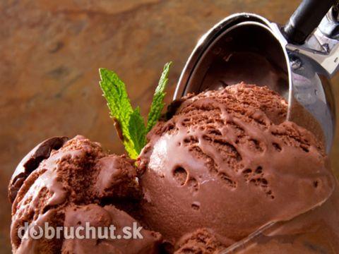 Čokoládová zmrzlina - cukr nahradit fruktózou dělená strava