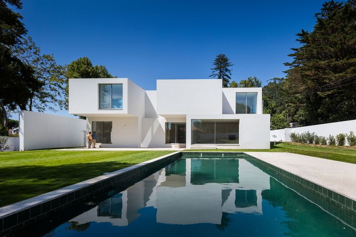 A Stack Of Blocks - The House MR by 236 Arquitectos in Portugal is a…