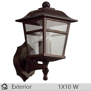 Aplica iluminat decorativ exterior Klausen, gama Colorado, model nr1 Brun