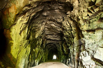 Othello train tunnels, Hope
