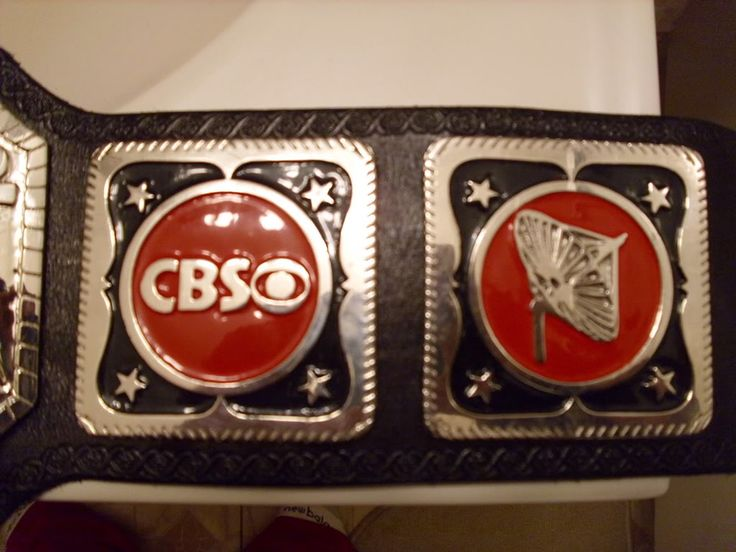 Side plates of the Arn Anderson's Television Title.