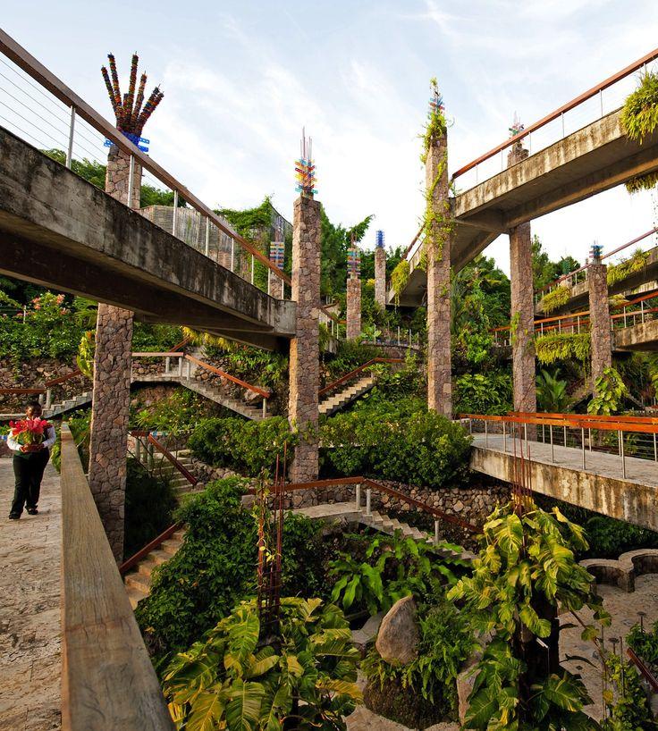 St Lucia...Jade Mountain walkways to rooms...AMAZING!