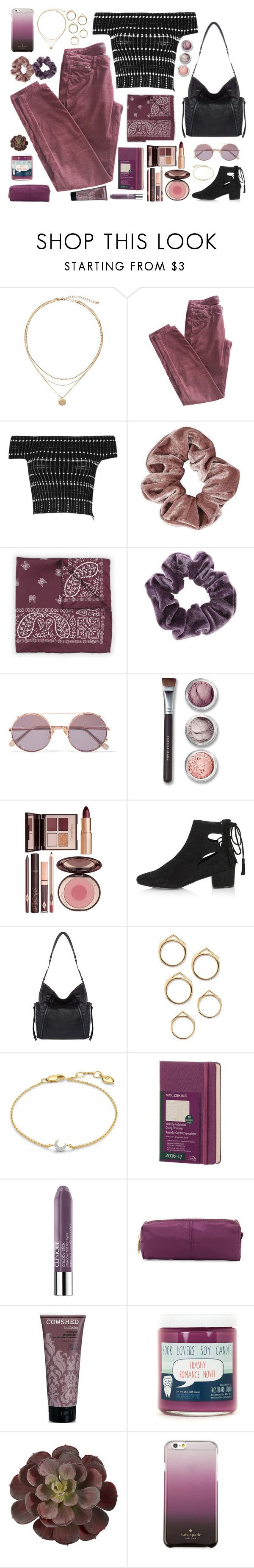 """""""Hey angel, Do you look at us and laugh when we hold on to the past?"""" by povring ❤ liked on Polyvore featuring Maje, Alexander McQueen, Club Monaco, Topshop, Sunday Somewhere, Bare Escentuals, Charlotte Tilbury, Kooba, Missoma and Clinique"""