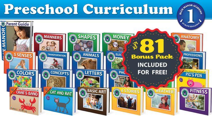 christian Preschool Curriculum Giveaway