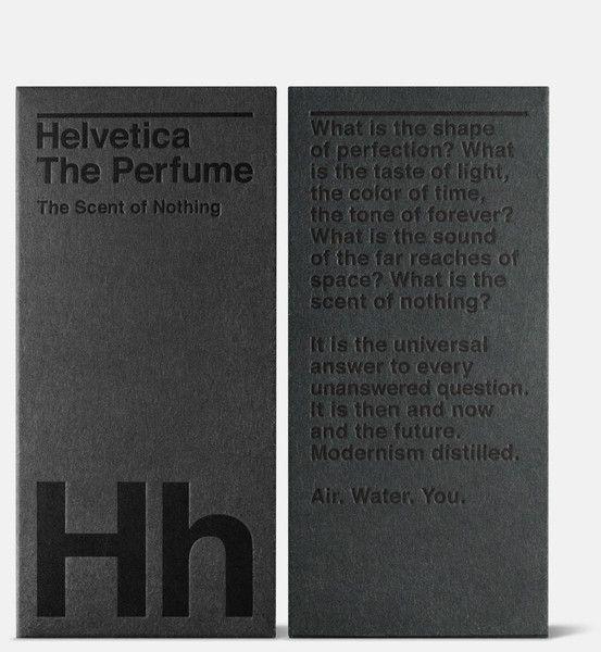 Helvetica the Perfume — Guts & Glory