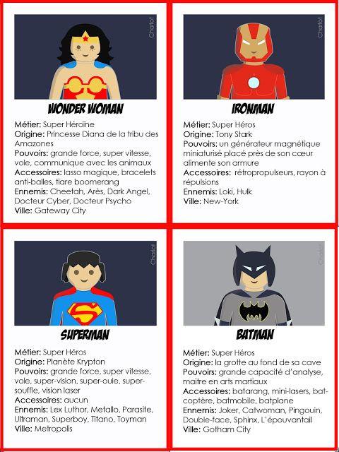 Anniversaire super héros.