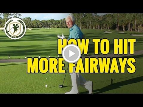 Golf Tips - How To Hit More Fairways With Your Driver #DentonGolfer #golf #golftips #golfing