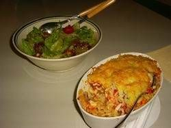 Macaroni Gegratineerd Met Champignons, Ei En Tomaat Lekker Vegetarisch recept   Smulweb.nl