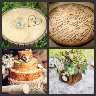 Weddings Are Fun Blog: Wooden-t You Love These Items in Your Wedding?